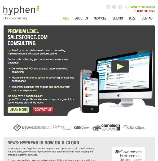 Hyphen8 Website